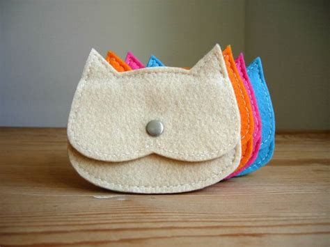 Cat Coin Pouch 25 best ideas about felt cat on felt crafts