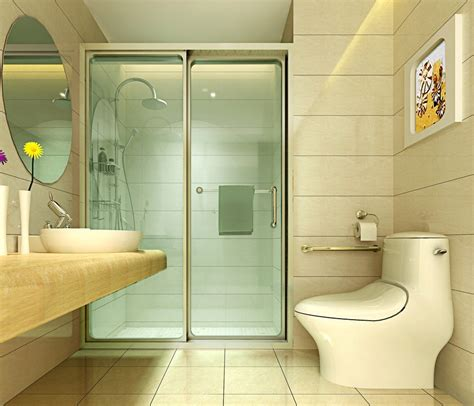 contracted bathroom design