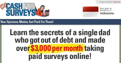 Make Money For Surveys - cash for surveys can you really make money with cash for surveys program www