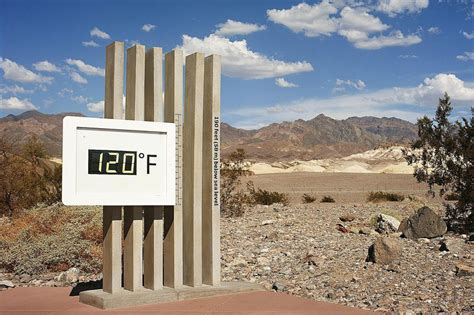 What Is The Highest Temperature Recorded In Valley What Is The Highest Temperature Recorded
