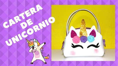 cuadernos decorados de unicornio con foami cartera de unicornio con foami unicorn foam purse youtube