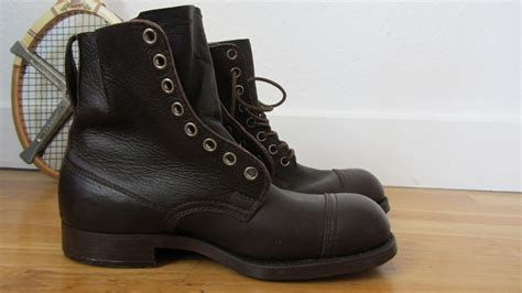swedish army boots brown from 1943 be cause style