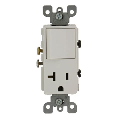 leviton 15 decora commercial grade combination single