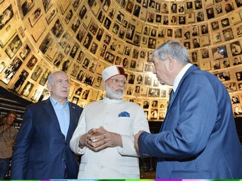 Topi Never Not Weiro narendra modi pm narendra modi wearing himachali topi in israel comes as boost for bjp