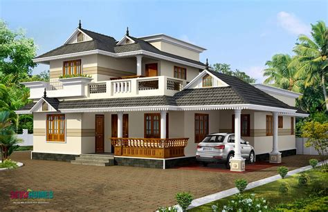 Kerala Style House Plans With Cost | kerala model home plans kerala style home plans home plans