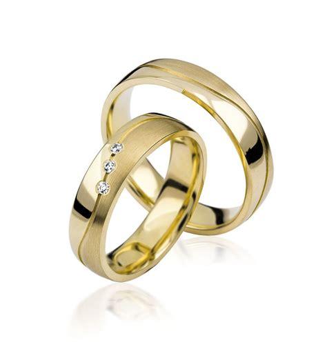 Hochzeitsringe Gelbgold 585k gelbgold hochzeitsringe eheringe trauringe