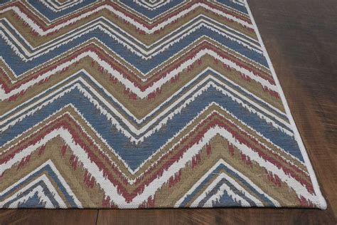 Chevron Area Rug Cheap Horizon By Kas Rugs Indoor Outdoor Area Rug 5723 Multi Chevron