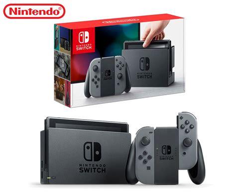 Nintendo Switch Gray Con nintendo switch con console grey aud 478 97
