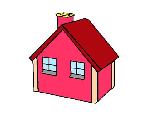 desenho de casas desenho de casa menor pintado e colorido por viniciusp o