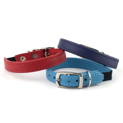 Handmade Leather Collars - handmade leather cat collar by petiquette collars