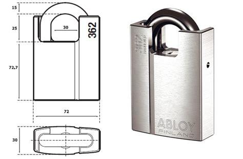 Jual Gembok Abloy jual gembok padlock abloy pl362 25 kunci jaya