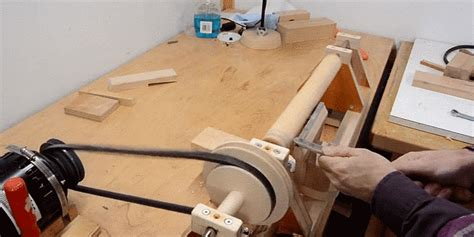 werkstatt gif why buy a lathe when you can build one from scratch