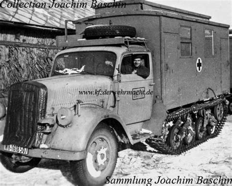 opel blitz maultier sdkfz 3 quot maultier quot s 248 gning half track
