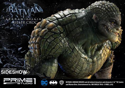 killer croc dc comics killer croc statue by prime 1 studio sideshow