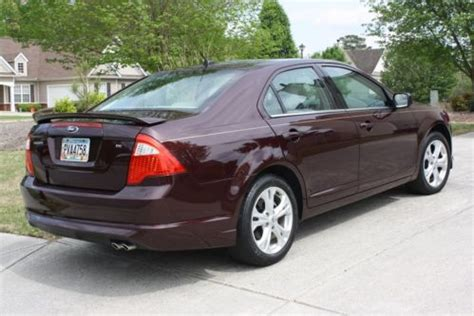 find used 2012 ford fusion se sedan 4 door 2.5l in buford