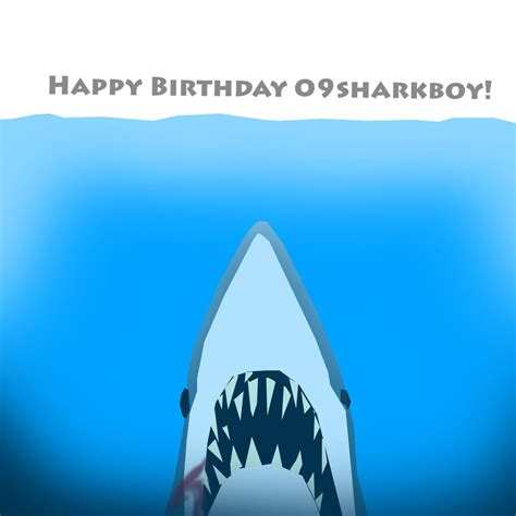 baby shark happy birthday shark bait happy birthday 09sharkboy by dragonscalez