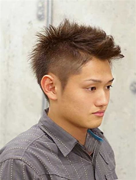 short spiked fohawk mens image gallery mohican hairstyles