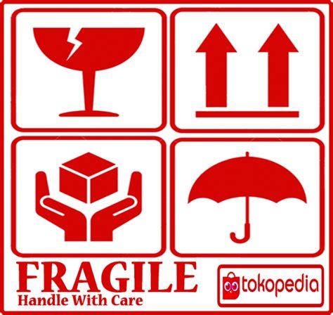 Stiker Label Pengiriman Barang Kode 05 15 daftar harga stiker fragile barang pecah murah buruan cek di katalog or id
