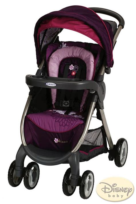 disney minnie mouse car seat and stroller minnie mouse inspired collection from graco disney world
