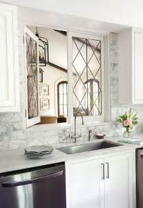 Kitchen To Dining Room Doors Leaded Glass Kitchen Pass Through Windows Transitional