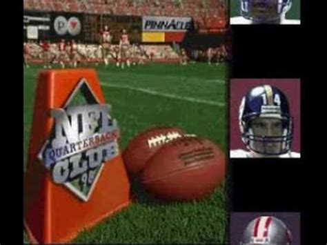 nfl quarterback club  super nintendo youtube