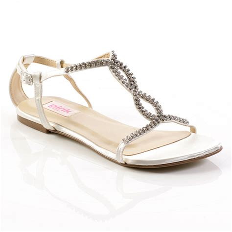 Wedding Shoes Sandals by The Gallery For Gt Flat Bridal Shoes Sandals