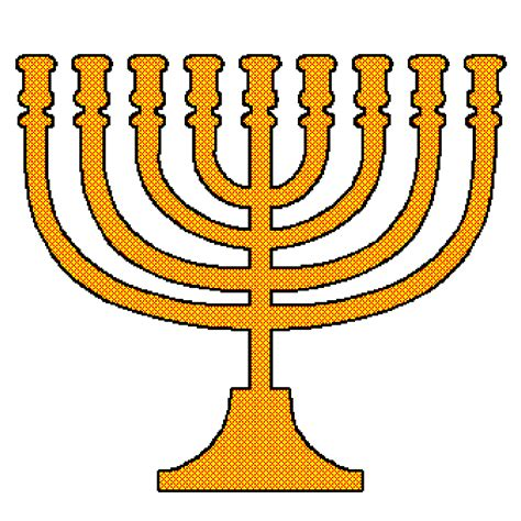 picture of hanukkah menorah clipart best