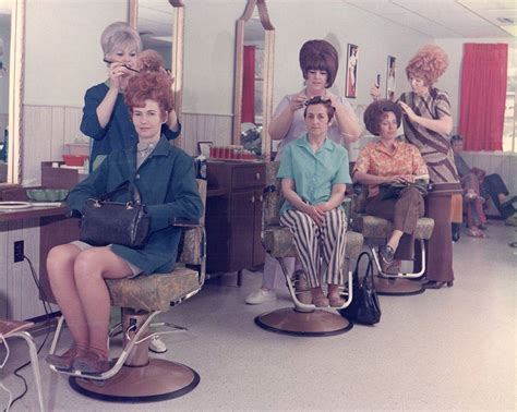 bouffant beauty salon videos women with very big hair in the 1960s