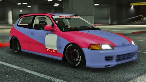 Honda Civic Tuning by Honda Civic Eg6 Kanjo Edition Tuning Template Gta5