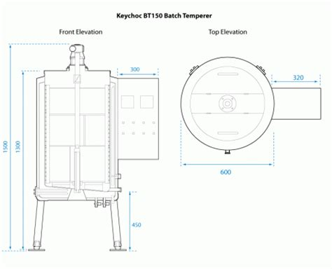 bt150 automatic batch temperer keychoc