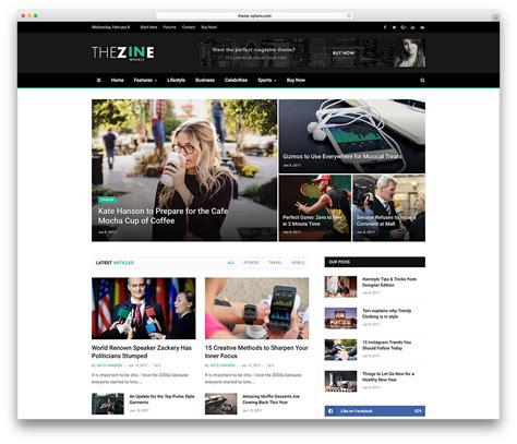 html news themes 20 best wordpress newspaper themes for news sites 2018
