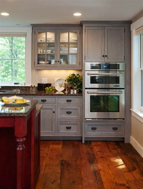 Wood Stain Kitchen Cabinets by Wood Cabinets Stain Finish Vineyard E A Residence