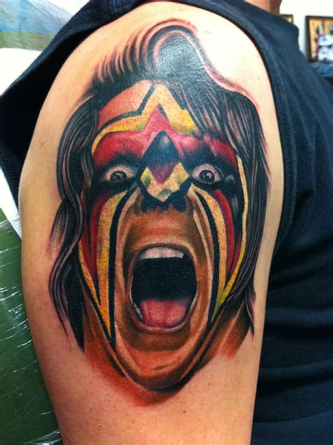 ultimate warrior tattoo photo gallery of related fan tattoos