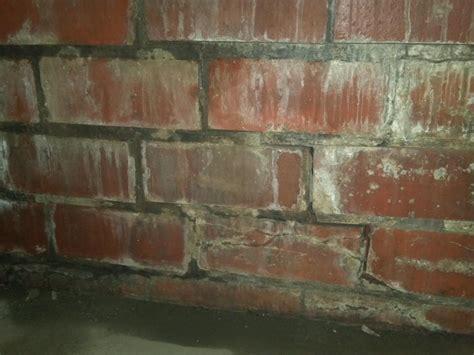 Foundation Repair   Clay Block   Cracked Clay Blocks in