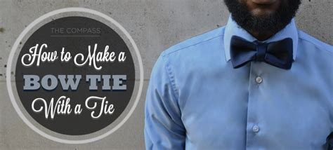 how to make bow ties how to make a bow tie out of a tie infographic