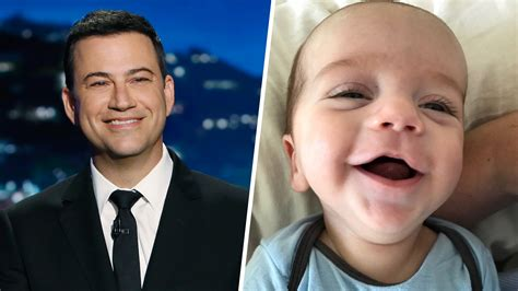 doing great jimmy kimmel posts update on son with