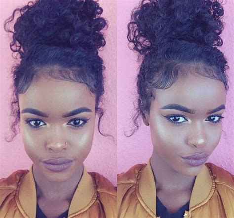 haircuts for curly hair toronto best 25 curly bun ideas on pinterest