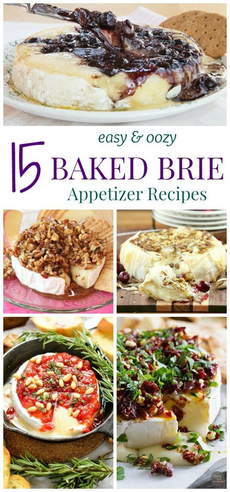 no cook office christmas party food 15 easy and oozy baked brie appetizer recipes amazing recipes baked brie appetizer baked
