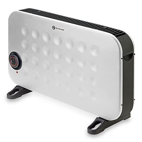 bed heater crane convection compact heater in white bed bath beyond