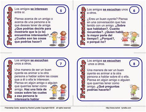 tarjeta para un alumno 24 tarjetas para seguir trabajando amistad el sonido de