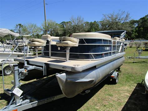 used pontoon boats for sale in leesburg florida used pontoon sweetwater boats for sale in florida united
