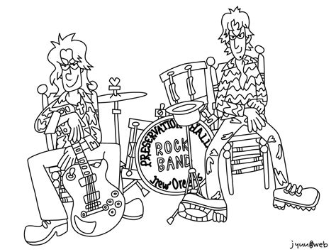 Band Coloring Pages Group Picture Image By Tag Band Coloring Pages