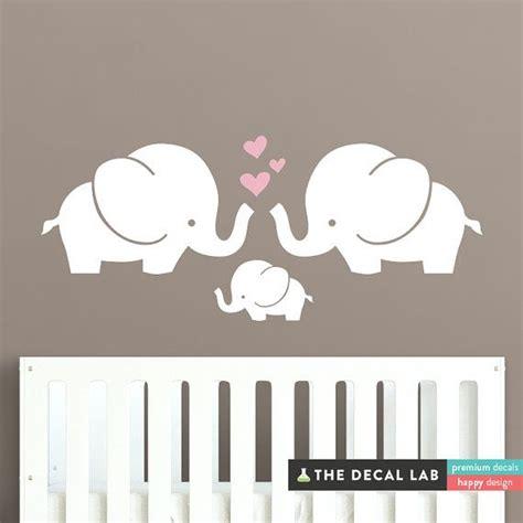 Elephant Wall Decal For Nursery Best 25 Elephant Wall Decal Ideas On Elephant Decorations Pink Elephant Nursery