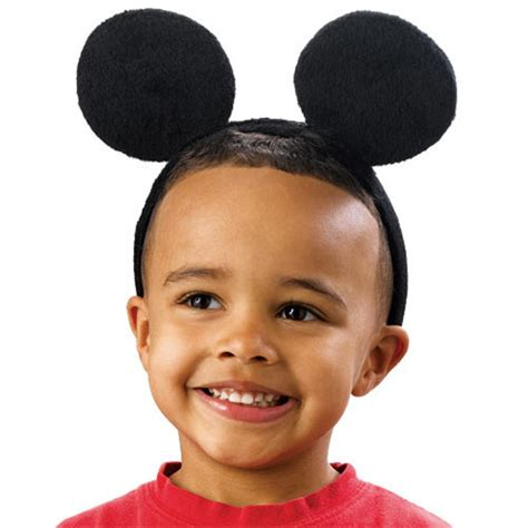 pink bows minnie mickey mouse ears boys children hair accessories headband