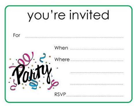you are invited invitations items similar to party you