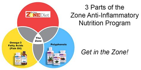 The Zone Diet | Dietary Program To Reduce Inflammation