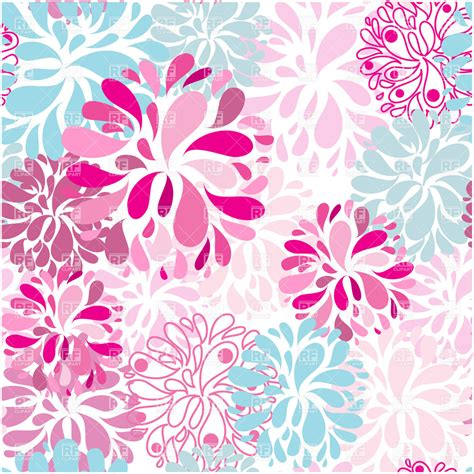 seamless floral pattern background vector graphic 13 abstract flower seamless vector background images