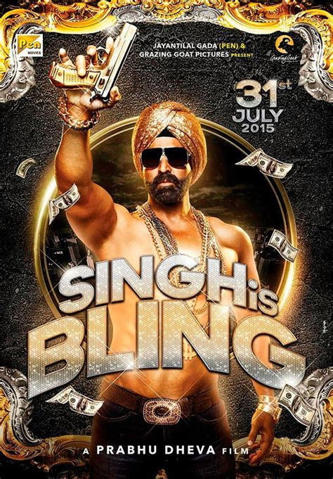 In Singh Is Bling poster, Akshay Kumar is the man with the ...