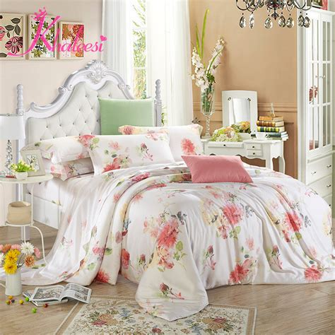 Bed Cover Set Tencel Katun Organik King Size 180x200x40cm bedsheet king size 4pcs quilt cover sheets 40 tencel modal bedding set bed cover duvet cover