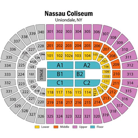 nassau coliseum floor plan nassau coliseum concert floor plan thecarpets co